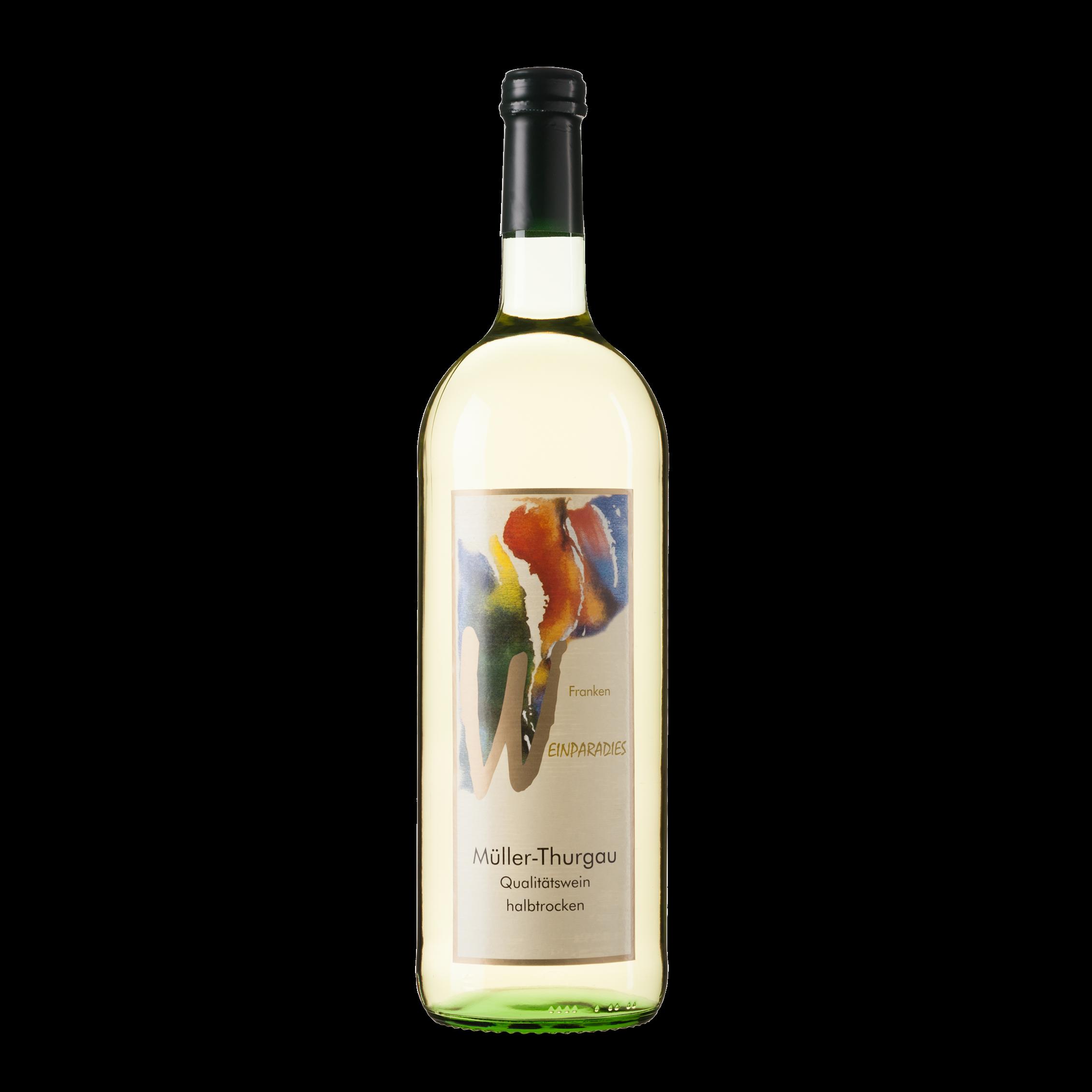 Weinparadies Müller-Thurgau halbtrocken
