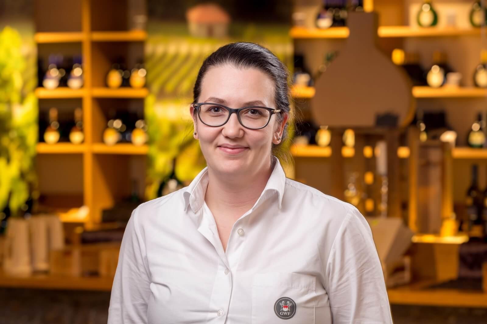 Annalena König, Leiterin der GWF FrankenVinothek