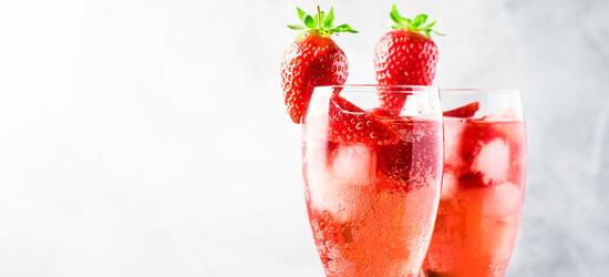 erdbeer secco