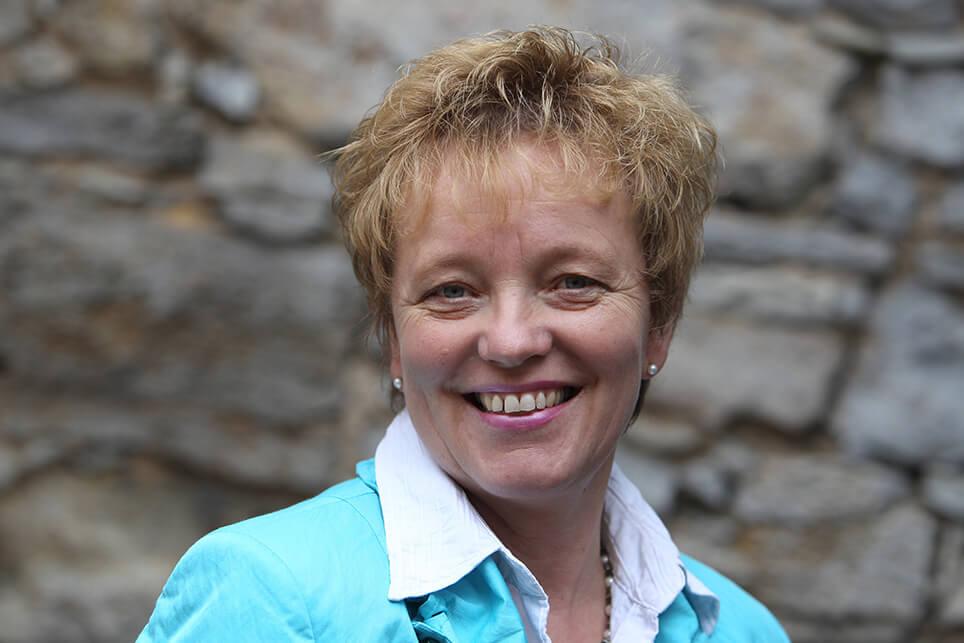 Gabriele Prowald, Gästeführerin für Volkach