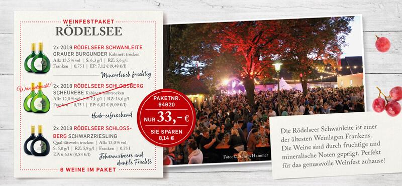 Weinfestpaket Rödelsee
