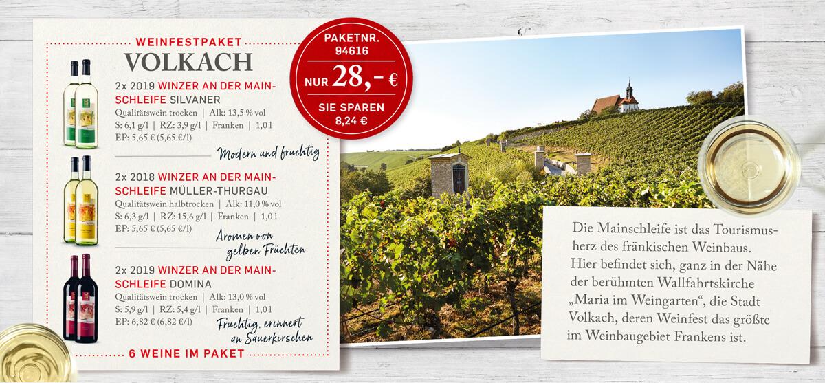 Weinfestpaket Volkach