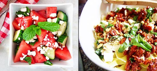Salate für den Sommer