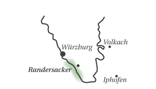 Randersacker liegt vor den Toren von Würzburg