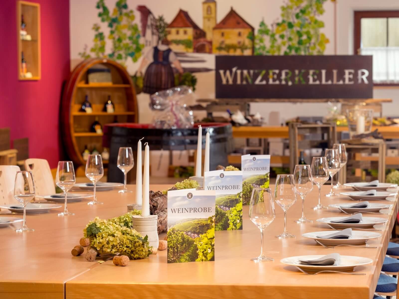 Weinprobe Winzerkeller Stetten