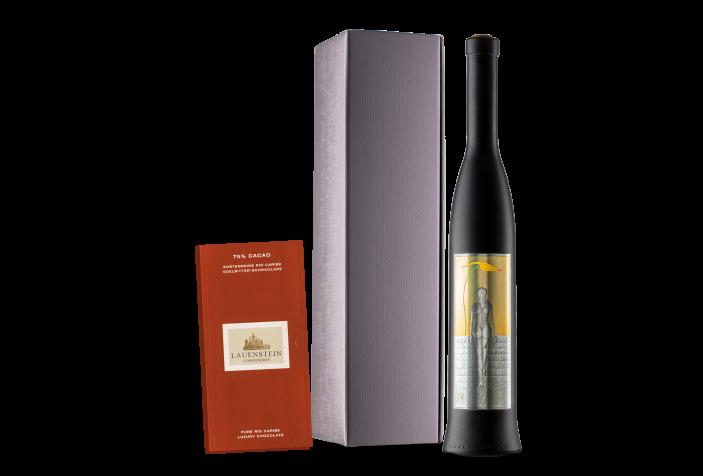 Franconia Weinaperitif Weiß mit Schokolade