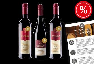 Weinpaket Rotweine für Entdecker mit Paketbeilage